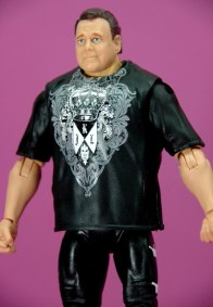Jerry Lawler figure Basic 49 - Mattel - side look