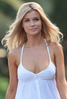 Joanna Krupa - white top