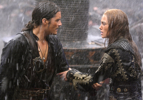 Pirates of the Caribbean- At World's End - Orlando Bloom and Kiera Knightely