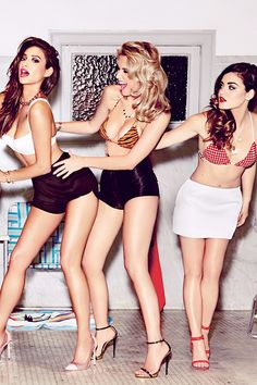 Shay Mitchell - with Ashley Benson and Lucy Hale