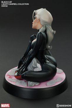 Sideshow - Black Cat - J Scott Campbell statue - rear pose