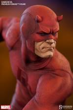 Sideshow Collectibles Daredevil premium format - close up