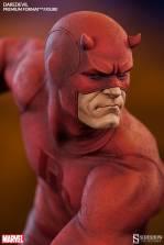 Sideshow Collectibles Daredevil premium format - close up