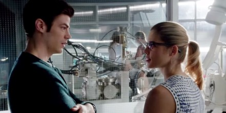 The Flash - All-Star Team Up - Barry and Felicity