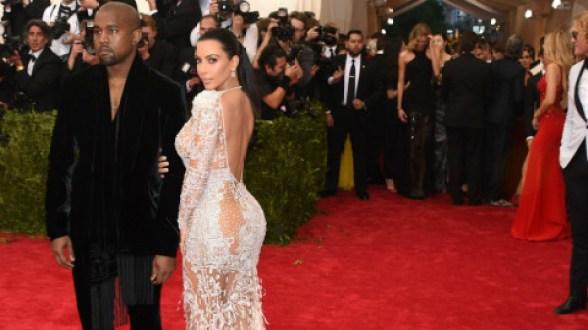 2015 Met Gala - kim-kardashian-Kanye West