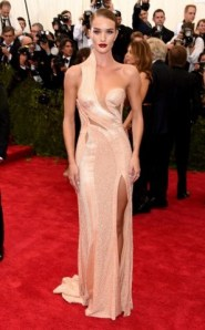 2015 Met Gala - Rosie Huntington Whitely