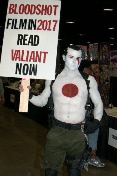 Awesome Con 2015 Day 1 cosplay -Bloodshot