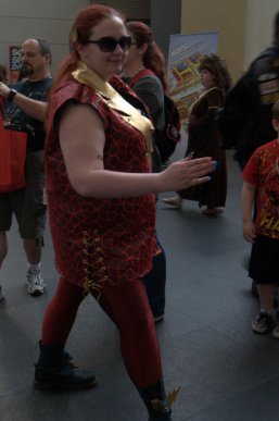 Awesome Con 2015 Day 1 cosplay - Flash