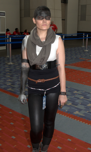Awesome Con 2015 Day 1 cosplay -Furiosa Mad Max