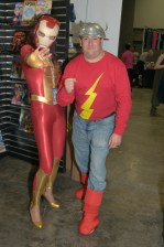 Awesome Con 2015 Day 1 cosplay - Iron Lady and Jay Garrick
