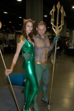 Awesome Con 2015 Day 1 cosplay - Mera and Aquaman