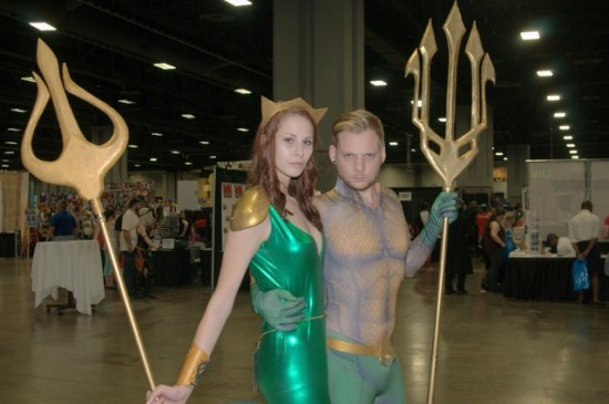 Awesome Con 2015 Day 1 cosplay - Mera and Aquaman2
