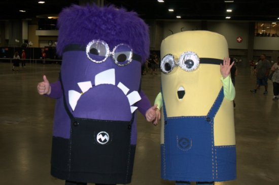 Awesome Con 2015 Day 1 cosplay -Minions1