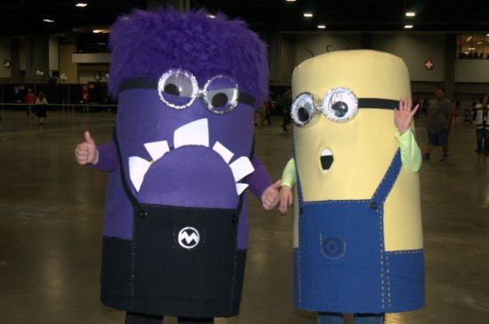 Awesome Con 2015 Day 1 cosplay -Minions2