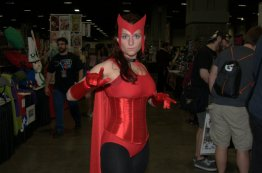 Awesome Con 2015 Day 1 cosplay -Scarlet Witch