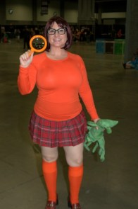 Awesome Con 2015 Day 1 cosplay -Scooby Doo Velma
