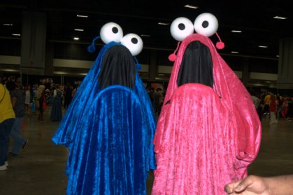 Awesome Con 2015 Day 1 cosplay - Sesame Street