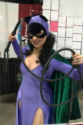 Awesome Con 2015 Day 1 cosplay - Silver Age Catwoman