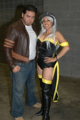 Awesome Con 2015 Day 1 cosplay -Wolverine and Storm