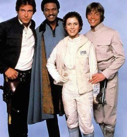 harrison-ford-billy-dee-williams-carrie-fisher-and-mark-hamill-empire-strikes-back