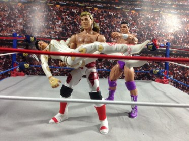 HBK Flashback Ringside - carrying Sherri SummerSlam 92