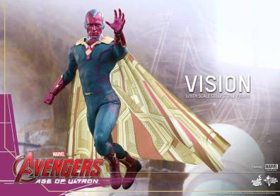 Hot Toys Avengers - Age of Ultron - Vision -flying