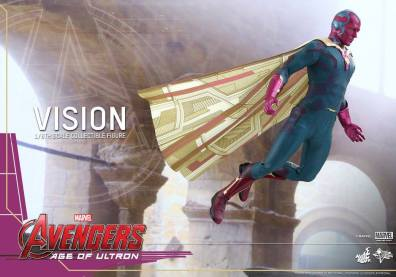 Hot Toys Avengers - Age of Ultron - Vision - gliding