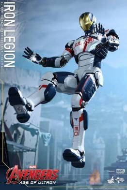 Hot Toys Iron Legion figure - hovering