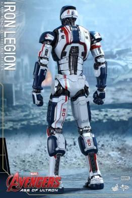 Hot Toys Iron Legion figure - rear