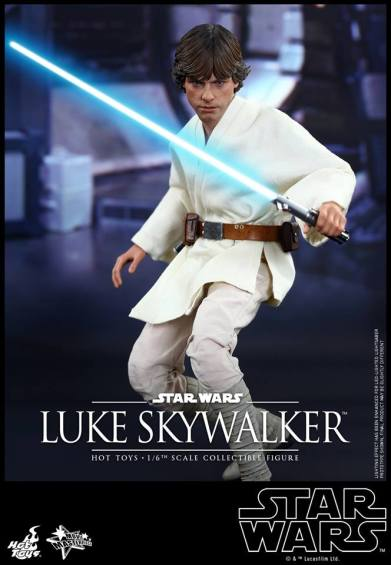 Hot Toys Star Wars Luke Skywalker - on guard