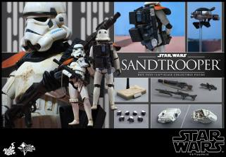 Hot Toys Star Wars Sandtrooper- collage