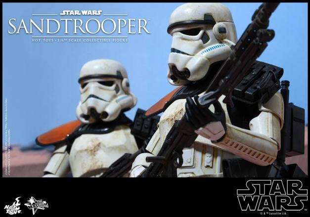 Hot Toys Star Wars Sandtrooper- duo