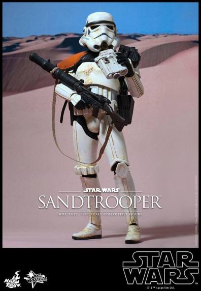 Hot Toys Star Wars Sandtrooper- main shot