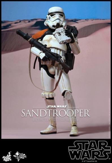 Hot Toys Star Wars Sandtrooper- main shot