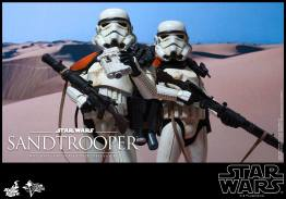 Hot Toys Star Wars Sandtrooper- two Sandtroopers
