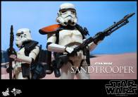 Hot Toys Star Wars Sandtrooper- two with rifles