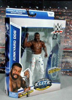 Junkyard Dog figure Mattel WWE Elite 33 - front package