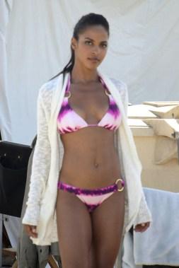 Megalyn Echikunwoke - bikini