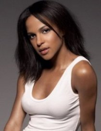Megalyn Echikunwoke - white tank top