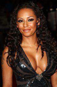 Mel B - black dress