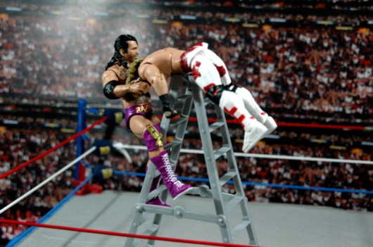 Razor Ramon Defining Moments -ladder match with HBK
