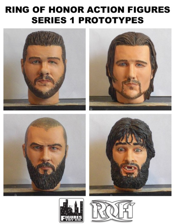 ROH figure prototypes