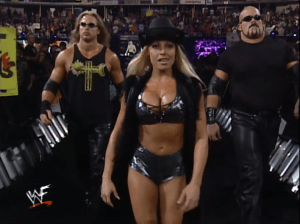 Trish Stratus T and A with Test and Albert