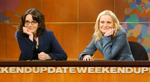 weekend-update-tina-fey-amy poehler SNL