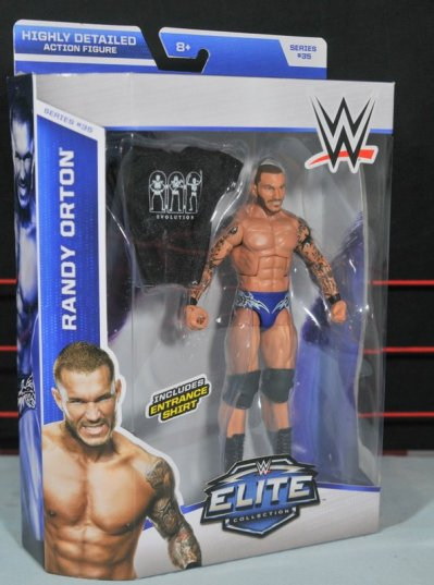 Randy Orton Mattel WWE Elite 35 - front package