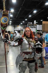 Awesome Con 2015 cosplay Day 2- knight