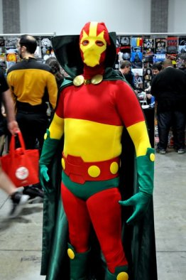 Awesome Con 2015 cosplay Day 2- Mr. Miracle