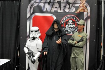 Awesome Con 2015 cosplay Day 2- Stormtrooper, Emperor and Imperial officer