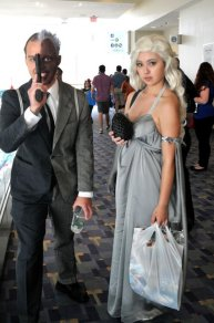 Awesome Con 2015 cosplay Day 2- Two-Face and Dany