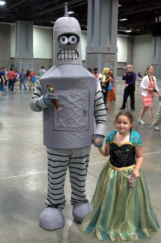 Awesome Con 2015 cosplay Saturday - Bender
